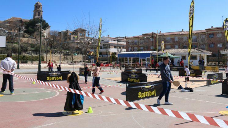 El Parque Ferial de Alhendín acogió este fin de semana la práctica de este deporte. Foto: aG