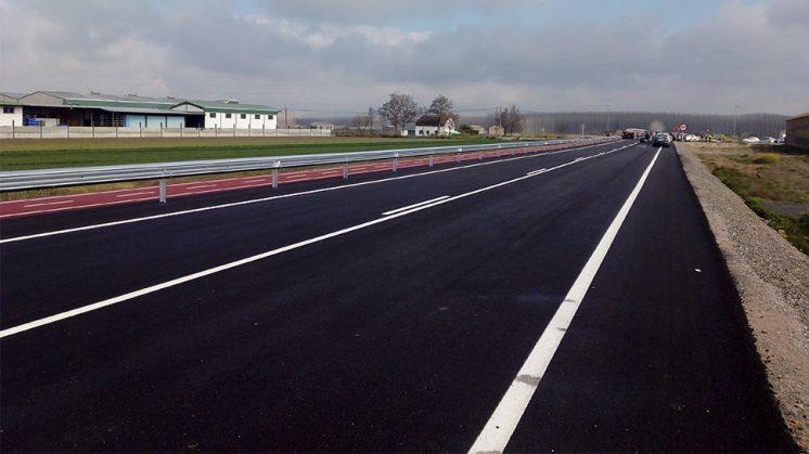 La segunda fase del proyecto pretende llegar a Fuente Vaqueros con una carretera trazada campo através. Foto: N.S.L.