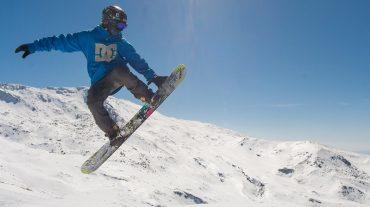 Sierra Nevada construye la pista de ski cross en la Loma de Dílar
