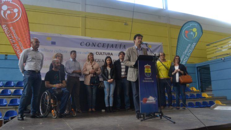 El acto se ha desarrollado durante el fin de semana en el Polideportivo Municipal con talleres, actividades deportivas y concursos. Foto: aG