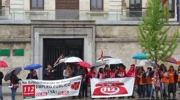 La plantilla del 112 pide a la Junta que intervenga para evitar la modificación de sus condiciones de trabajo