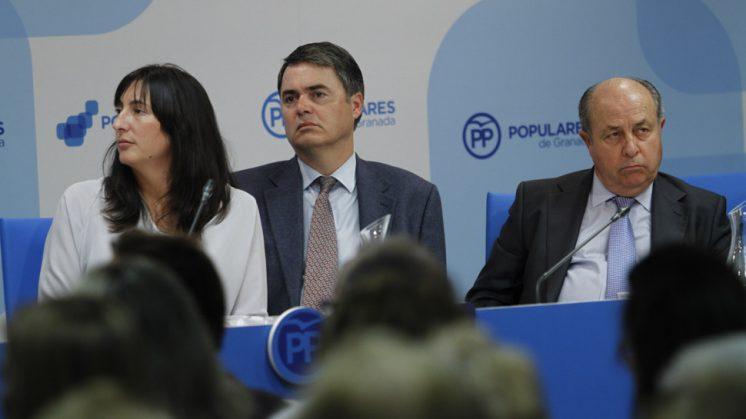 Loles López junto a Torres Hurtado y Carlos Rojas, en una imagen de archivo. Foto: Álex Cámara