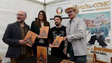 La obra 'S.O.N.', presentada en la Feria del Cómic