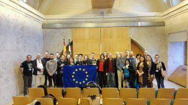 Granada recibe a los 22 participantes en un curso de formación de Erasmus + Juventud