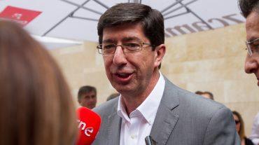 """Marín dice que """"no hay marcha atrás"""" en la decisión de apoyar al PSOE y que Moreno no ha contactado con él"""