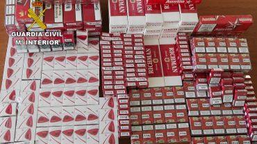 Aprehenden 14.000 cajetillas de tabaco de contrabando en el Área Metropolitana de Granada este año