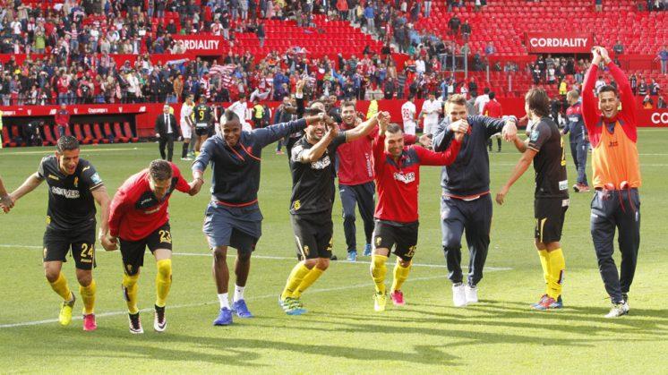 Jornada 37 de la Liga BBVA disputada entre Sevilla FC y GranadaCF en el Estadio Sanchez Pizjuan.
