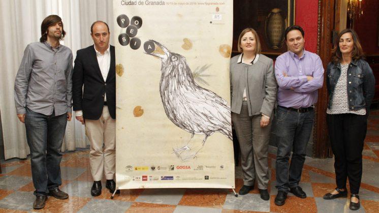 El Festival Internacional de Poesía de Granada es una iniciativa original de los poetas Fernando Valverde y Daniel Rodríguez Moya desde su inicio, hace 13 años. Foto: Álex Cámara