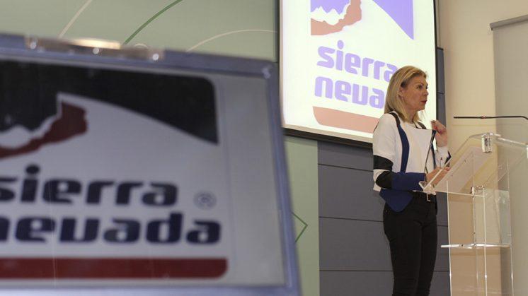 La consejera delegada ha destacado el esfuerzo promocional de Sierra Nevada, María José López. Foto: aG