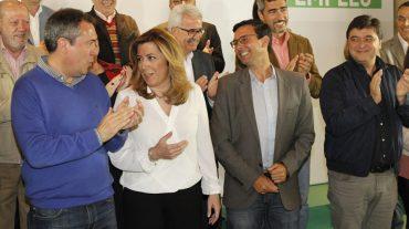 Susana Díaz anuncia en Granada medidas para que Andalucía baje de 900.000 parados