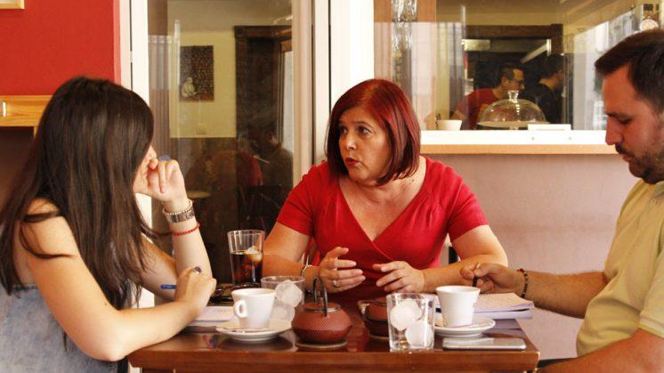 Entrevista cafe con Elvira PSOE - AlexCamara-5
