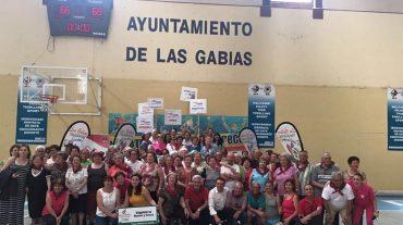 Más de 500 jubilados de nueve municipios participan en las II Mayor Jornadas Deportivas de Las Gabias