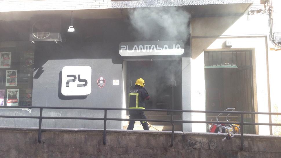 Incendio Sala Planta Baja AC