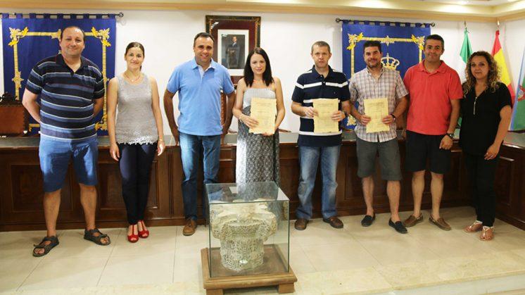 Los premiados por el concurso han recogido sus galardones. Foto: Ayuntamiento