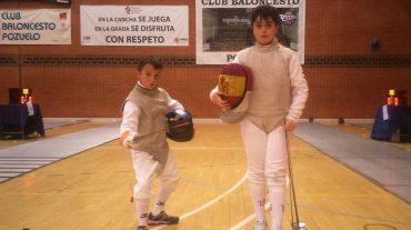 Inmejorable participación en los Campeonatos de España de Esgrima para benjamines y alevines de Maracena