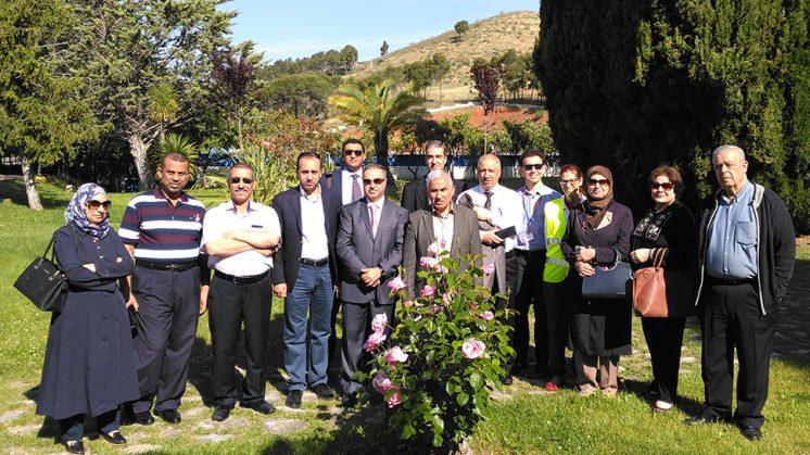 La visita está impulsada gracias al apoyo de la Delegación de la Unión Europea en Irak y del Gobierno de dicho país. Foto: Emasagra / aG