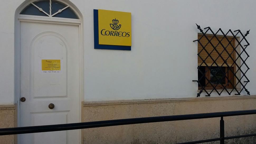 Ahora granada la oficina de correos de l char pasa de for Oficina de correos rivas vaciamadrid