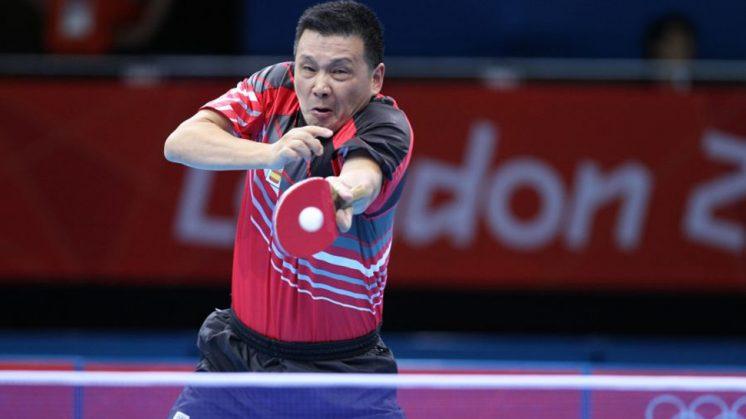 Juanito disputará sus cuartos Juegos consecutivos. Foto: RFETM
