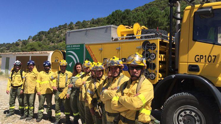 Plan Infoca Incendio Puerto Lobo