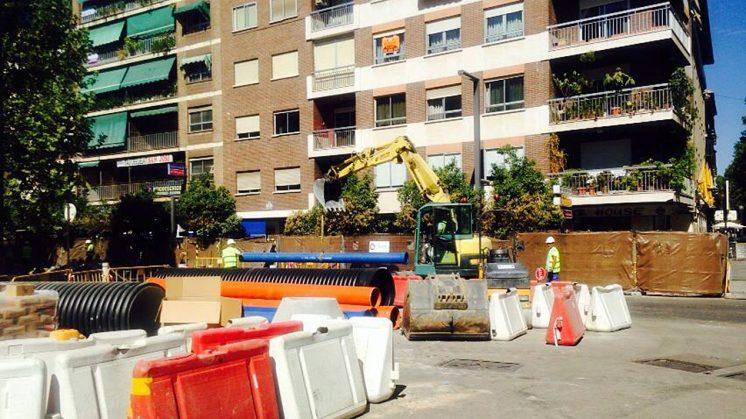Los trabajos son para los colectores en este espacio de la ciudad. Foto: PP