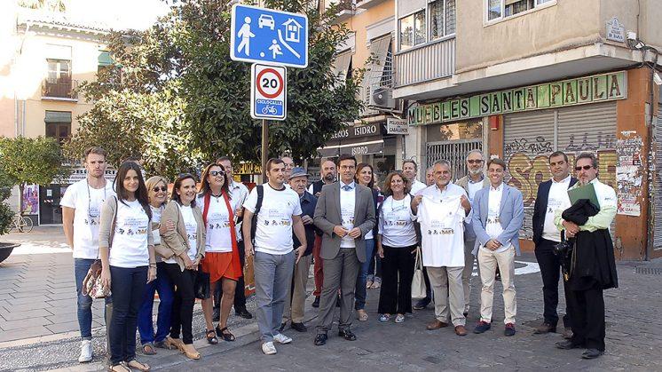 El alcalde se ha reunido con diversos colectivos para presentar las actividades. Foto: Javier Algarra