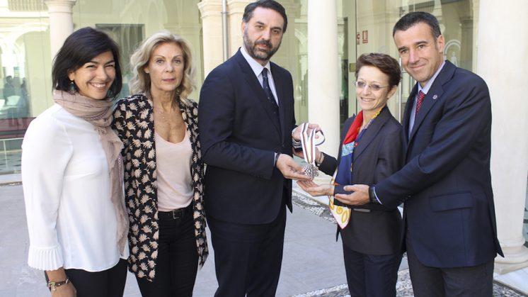 El acto ha estado presidido por el consejero de Turismo y Deporte de la Junta de Andalucía, Francisco Javier Fernández. Foto: aG