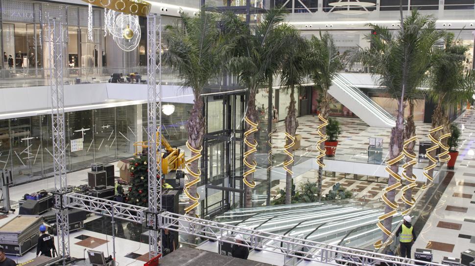 Ahora granada el centro comercial nevada se prepara para - Centro comercial serrallo granada ...