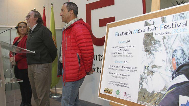Las jornadas comenzarán con la ponencia de los  Jóvenes Alpinistas de Andalucía. Foto: Diputación de Granada