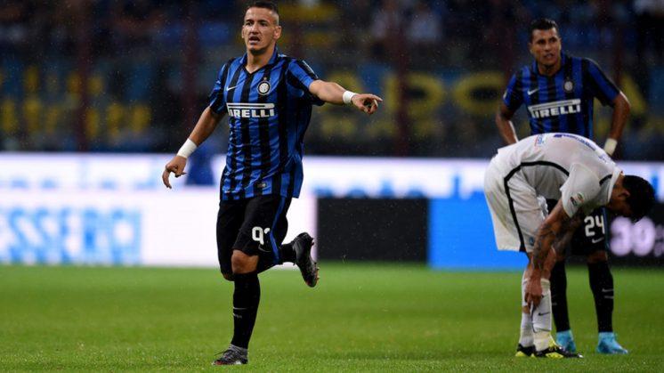 Rey Manaj saat masih memperkuat Inter Milan